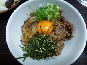 長太屋牛丼