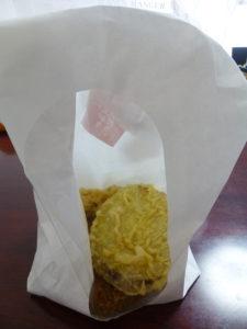 天ぷらの袋