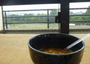 スープと景色
