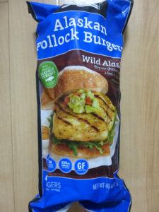 Alaskan Pollock Burgers