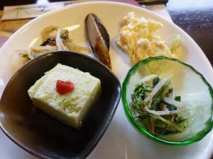 枝豆豆腐など