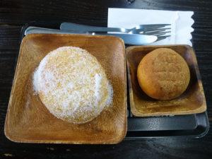 揚げあんパンと揚げパン