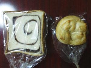 あん食パンとはちみつシュガーパン