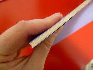 上から見た手帳