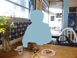 テーブルのようす