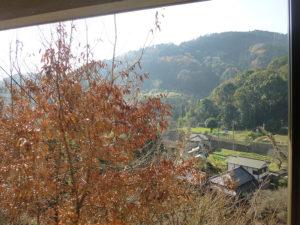 リラクゼーションルームからの風景