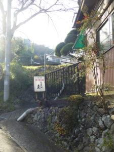 紀見峠駅付近