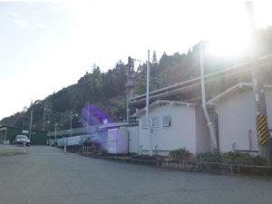 紀見峠駅南側