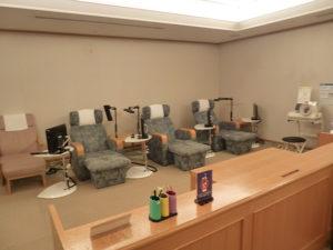 ヘルスクラブ 休憩室