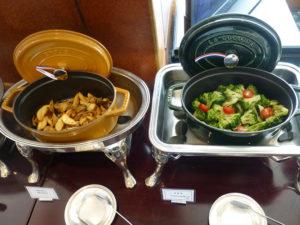 ラウンジ朝食 野菜類