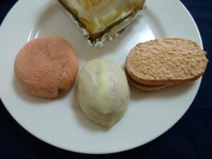 シャトレーゼいちごお菓子3種
