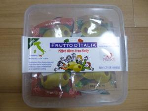 Olives from Sicily 外箱