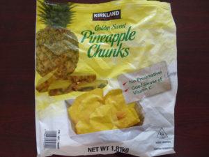 パイナップルチャンクス外袋