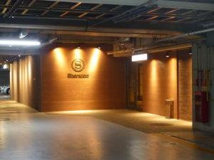 神戸ベイシェラトン地下入り口