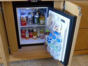 冷蔵庫とミニバー