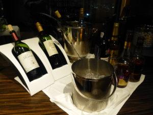 クラブラウンジイブニングサービス ワイン等
