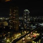 クラブラウンジからの夜景その1