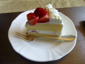 別で注文したケーキ