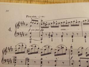 ショパンエチュード-Op.10-4 嬰ハ短調