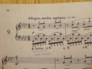 ショパンエチュード-Op.10-9ヘ短調
