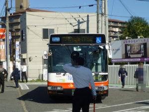 河内長野駅からやってくるバス
