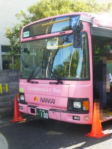 南海バス展示