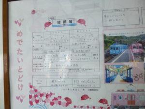 和歌山市のオリジナル婚姻届「めでたいとどけ」