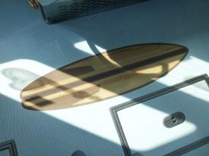 床のボートイラスト拡大