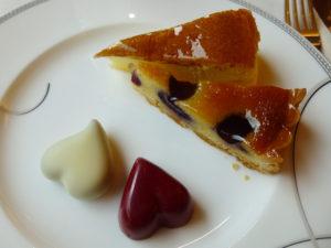 アフタヌーンティー チョコとケーキ