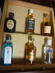 有料の洋酒類